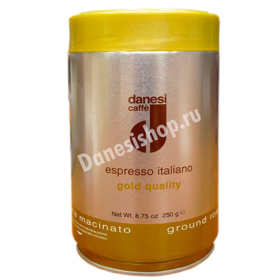 Кофе Danesi (Данези) в зернах Gold