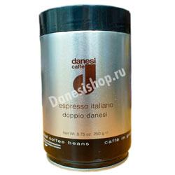 Кофе Danesi в зернах Doppio 250 гр